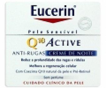 EUCERIN Crema antiarrugas hidratante noche Q10 50 Mililitros