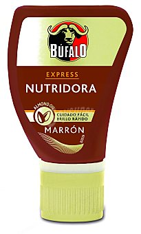 Bufalo Crema nutridora color marrón Bote 50 ml