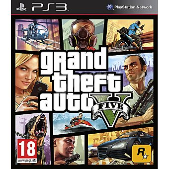 PS3 Videojuego Grand Theft Auto V 1 unidad