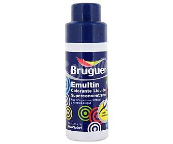 BRUGUER Colorante Líquido Superconcentrado Emultin, Color Azul Océano 0,5L
