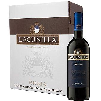 LAGUNILLA vino tinto reserva D.O. Rioja caja 6 botella 75 cl