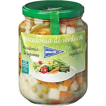 Hipercor Macedonia de verduras Frasco 450 g neto escurrido
