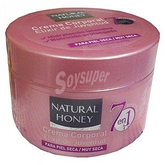 Natural Honey Crema corporal 7 beneficios Tarro 250 ml