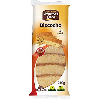 MONTES LARA INPANASA Bizcochos Paquete 270 g