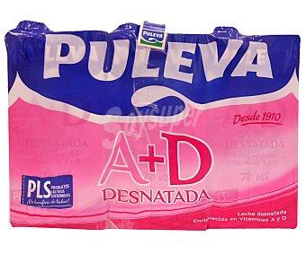 Puleva Leche Desnatada a + d 6x1L