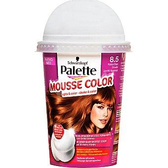 Schwarzkopf Palette tinte nº 8.5 Rubio Claro Dorado coloración Mousse Color permanente brillo intenso envase 1 unidad con perfume afrutado Envase 1 unidad