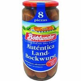 Boklunder Salchicha Bockwurst Frasco 720 g