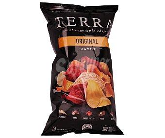 Terra chips Patatas fritas lisas de vegetales exóticos Bolsa de 110 grs