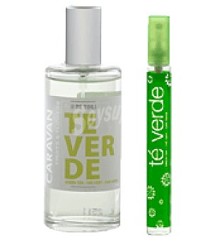 Fruits & Flowers Estuche Colonia te verde spray 100ml + colonia mini spray 15ml. 1 ud