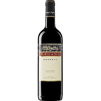 MAGAÑA Vino tinto reserva D.O. Navarra botella 75 cl Botella 75 cl