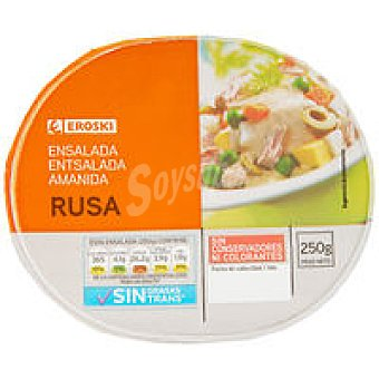 Eroski Ensalada rusa Tarrina 250 g