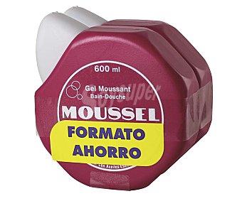 Moussel Gel de baño y ducha 2 unidades de 600 ml