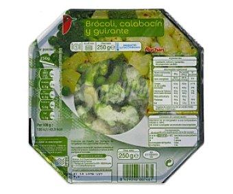 Auchan Bol Verduras al Vapor: Bróculi, Calabacín y Guisante 250 Gramos