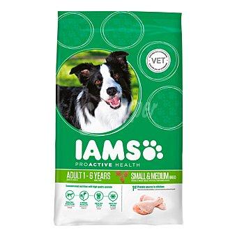 IAMS Proactive health adult pienso especial para perros adultos de razas pequeñas y medianas Bolsa 3 kg