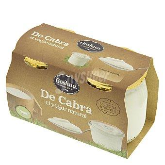 Goshua Yogur natural de leche de cabra 125 G 125 g