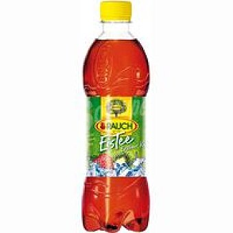 RAUCH Refresco Ice Tea de fresa-kiwi Botella de 50 cl