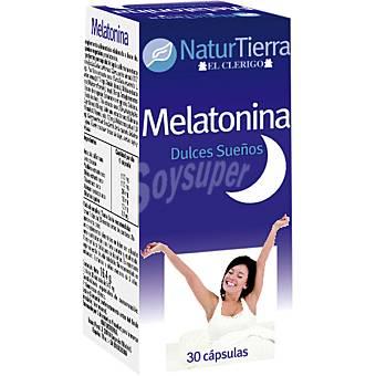 NaturTierra Melatonina dulces sueños ápsulas envase 120 g 30 c