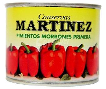 MARTÍNEZ Pimiento morrón primera 125 Gramos