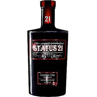 STATUS 21 ginebra premium  botella 70 cl