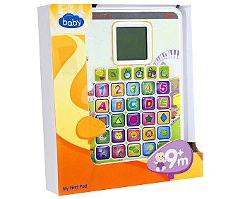 Baby Tablet Infantil de Aprendizaje con Actividades 1 Unidad