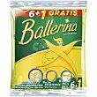 Bayeta amarilla Pack 6+1 unid Ballerina