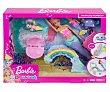 Muñeca Dreamtopia con dos niñas sirena, tobogán y accesorios, barbe Barbie