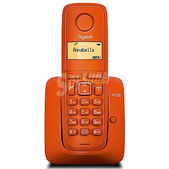 GIGASET Teléfono inalámbrico dect color naranja A120