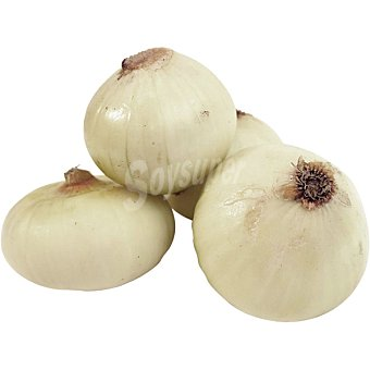 Cebollas peladas peso aproximado Bandeja 1 kg