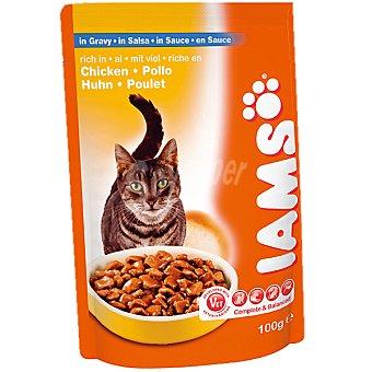 IAMS Pollo en salsa para gatos Bolsa 100 g