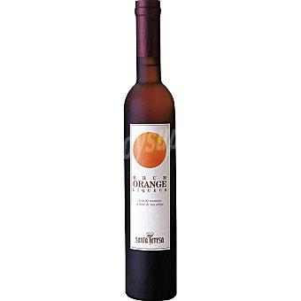 Santa Teresa Rhum Orange Liqueur Licor de naranja a base de ron añejo Botella 50 cl