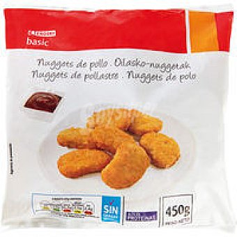 Eroski Basic Nuggets de pollo Bolsa 450 g