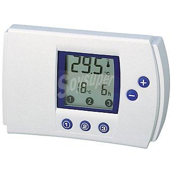 LIFEDOM Termostato digital con 3 tomas y mando a distancia