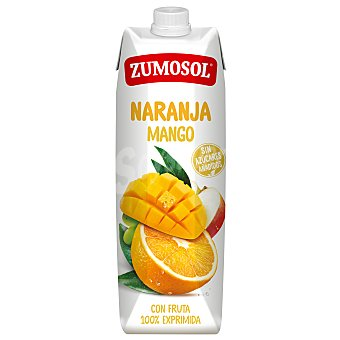Zumosol Zumo de naranja y mango Zumosol exprimido Brik 1 l