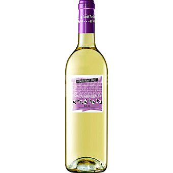 Etcétera Vino Blanco Rueda Semidulce Botella 75 cl