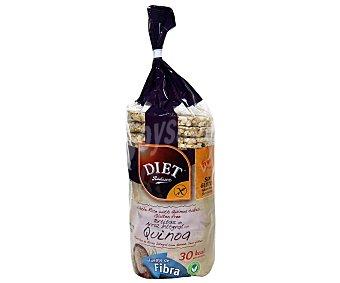 Diet Rádisson Tortitas de arroz integral con quinoa 130 gramos