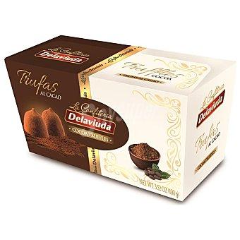 Delaviuda Trufas al cacao Caja 100 g