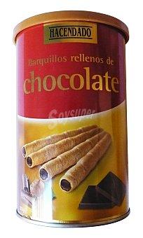 Hacendado Barquillo chocolate tubo Bote de 200 g