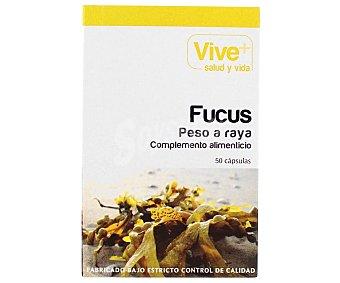 Vive+ Fucus vive plus complemento alimenticio para control de Peso 50 cápsulas 26 g