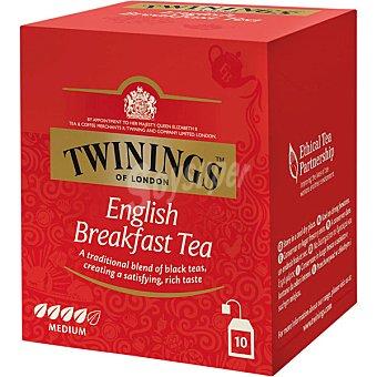 Twinings Té English Breakfast  10 sobres (estuche 20 g)