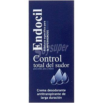 ENDOCIL Desodorante en crema antitranspirante de larga duración Tubo 25 ml