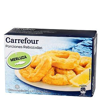 Carrefour Rodajas de merluza rebozadas 330 g
