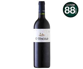 El Vinculo Vino tinto reserva con denominación de origen la Mancha botella de 75 centilitros
