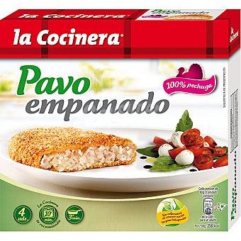 LA COCINERA pavo empanado  4 unidades 330 gr