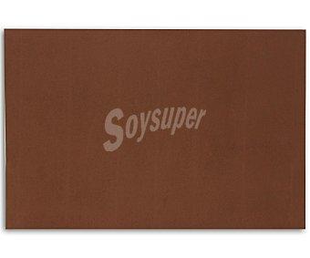 APLI Plancha de foam, goma eva de color marrón y dimensiones 400x600x 2 milímetros 1 unidad