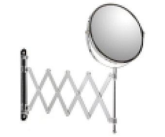 Tatay Espejo de aumento redondo con brazo extensible, 17 centímetros 1 unidad