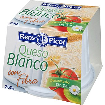 Reny Picot queso fresco blanco con fibra envase 250 g