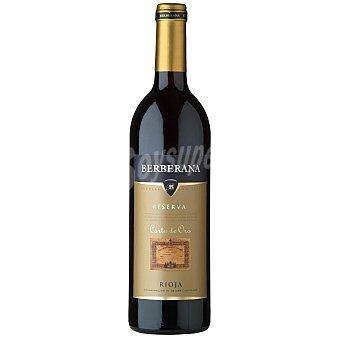 Carta de Oro Vino tinto D.O.C. Rioja Reserva 75 cl