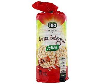 SANTIVERI tortitas de arroz integral  paquete 130 g