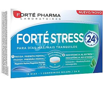 Forte Pharma Comprimidos con acción anti estrés de efecto inmediato y prolongado (hasta 24 horas) forté stress 15 uds