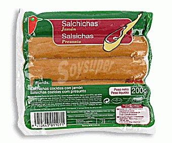 Auchan Salchichas Jamón 200g